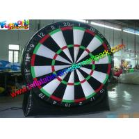 China Inflatable Sports Games Air Shooting /  Target Inflatable Dart Board With PVC wholesale