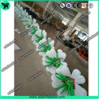 China High Quality Inflatable Lily Flower Rope,Inflatable Flower Line,Event Inflatable Flower wholesale