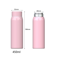 China BSCI Anti Slip 15 Ounce Stainless Steel Vacuum Flask wholesale