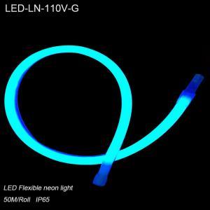 China 110V exterior waterproof IP65  flexible led neon light for showcase decoration wholesale