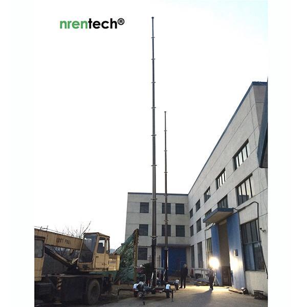pneumatic mast testing by nrentech