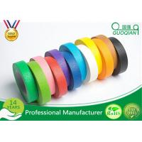 China High flexibility Rainbow Coloured Masking Tape For Painting , Easy To Remove wholesale