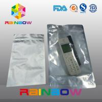 China Foil front transparent electronics packaging anti static bag with ziplock wholesale