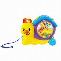 China Cartoon Snail Toy with Music and Light wholesale