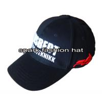 China Custom high quality flex fitted baseball cap for sale wholesale