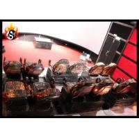 China Metal Arc Silver Screen with Cinema Cabin for 7D Cinema System wholesale