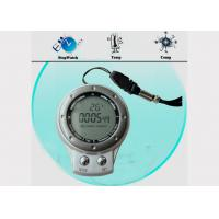 China Outdoor Hiking Compass with Carabiner Key Chain SR104, Super Bright LED Backlight wholesale