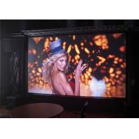 China P6 1R1G1B LED Screen Panel for Indoor , Flexible LED Curtain Display wholesale