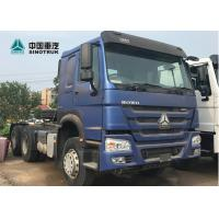 Buy cheap 6 X 4 10 Wheels Prime Mover Truck Euro2 420hp Heavy Duty Tractor Head from wholesalers