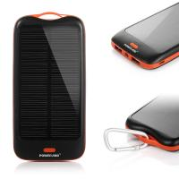 China Mobile High Capacity 10000mah Solar Panel Power Bank Charger Battery For Travel wholesale