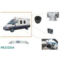 """China 1/3"""" Sony CCD 360 Degree Rotation Armed Escort Vehicle Security Camera System wholesale"""