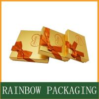 Quality Chocolate Paper Box Packaging , Product Packaging Box for Gift Wrapping for sale