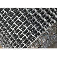 China Honeycomb Wire Mesh Conveyor Belt , Metal Mesh Belt With Clinched Edge on sale