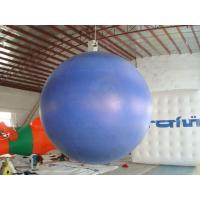 China 0.18mm helium PVC Giant Neptune  Inflatable Helium Balloons ,Round  shaped For Outdoor Celebration and special events wholesale