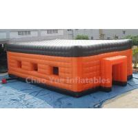 China High Quality PVC Tarpaulin Big Inflatable Party Cube Tent for event wholesale