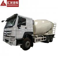 China 6*4 10m3 Mobile HOWO Concrete Mixer Truck Machine For Construction Works on sale
