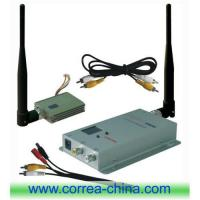 China 1.2GHz 400mw wireless AV transmitter receiver wholesale