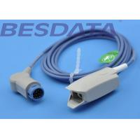 China Medical Spo2 Sensor Probe Round 12pin Compatible For Philips 78352A / M1190A wholesale