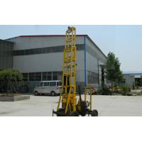 China Durable Borehole Water Drilling Rig trailer type , 22HP power wholesale