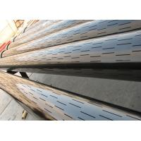 China Slotted Liner Sand Control Screen , Straight / Staggered Slotted Casing Pipe on sale