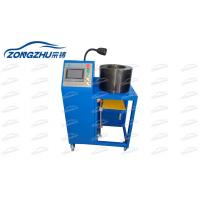 China Air Suspension Spring Hose Pipe Making Machine Automatic Hydraulic Hose Crimper 380V wholesale