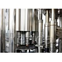 China Grape Wine Washing Filling Capping Machine 3 - IN -1 For Grape Juice / Apple Juice wholesale