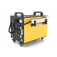 China Portable Rust Removal 120W Laser Metal Cleaning Machine wholesale