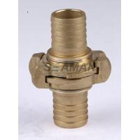 "China Firemans Hose Nozzle Nakajima 1.5"" / 2"" / 2.5""  Brass Fire Hose Coupling Connector wholesale"