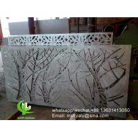 China Tree Metal aluminum perforated panel carved panel sheet for fence decoration wholesale