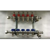 China Bamboo Joint  Hot Water Heater Manifold With Built In Slow Open Spool wholesale