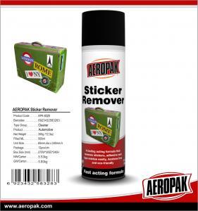 China Aeropak 500ml Sticker Remover wholesale