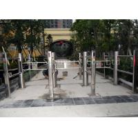 China Intelligent Infrared Sensor Automatic Swing Gates , Stainless Steel Swing Barrier wholesale