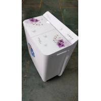 China 12kg Double  Tub Top Load Large Capacity Washing Machine With Hidden Panel wholesale