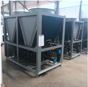 China EVI Compressor Split Heat Pump 15HP CO2 Air Source Heat Pump Commercial wholesale