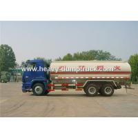 Fuel Transportation Oil Tank Truck 6x4 25 CBM With HF7 Front Axle and ST16 Rear Axle
