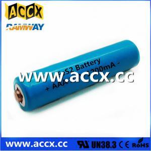 China Shaver Battery LiFeS2 AA lithium battery 1.5V 1100mAh wholesale