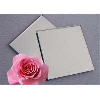 China Furniture Grey Mirror Glass , 1.5mm - 8mm Thickness Coloured Mirror Glass wholesale