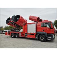 China Maximum Exhaust Volume 1200000m^3/H Large Smoke Exhaust Fire Truck 28t Weight wholesale