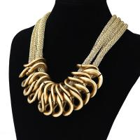 China 2015 Fashion Retro CCB punk chain chunky Pendant necklaces New Statement Necklace on sale
