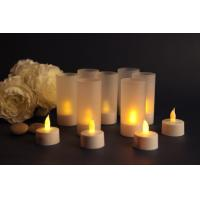 China LED Rechargeable candle light wholesale