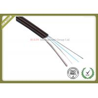 China Singlemode FTTH Fiber Optic Cable Metal Strength Member For High Speed Optical Routes wholesale