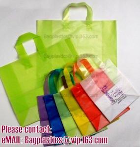 China Shopper, Shopping bags, Soft loop handle, Die cut handle, Flexi loop handle, Thermal bags wholesale