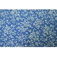 China Dyeing Yarn Denim Print Fabric Shrink - Resistant With Custom Made Pattern on sale