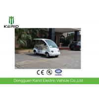 China 48V DC Motor Electric Mini Sightseeing Car 4 Seater For Park And Club on sale