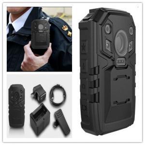China Ambarella 5MP CMOS Police Body Worn CCTV Cameras with H.264 Multiple Recording Resolution wholesale