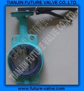China ANSI 125/150 Wafer Type Butterfly Valve on sale