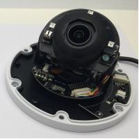 High Speed PTZ Dome Camera With 20m IR, Ceiling Mount 3x Optical Zoom , Analog ,