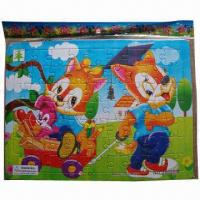 China Children's Jigsaw Paper Puzzles, OEM and ODM Orders are Welcome wholesale