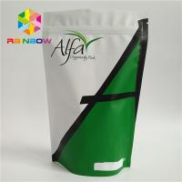 China Eco - Friendly Aluminum Foil Stand Up Bags , Plastic Pouch Packaging  For Tea protein powder. wholesale