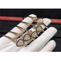 China Sophisticated Happy Hearts Chopard Jewelry For Young Women / Ladies / Girls wholesale